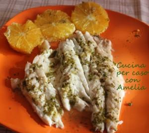 Branzino al forno all 39 arancia ricetta cucina per caso for Cucinare branzino