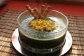 Crema spinaci patate uova sode, ricetta vegetariana