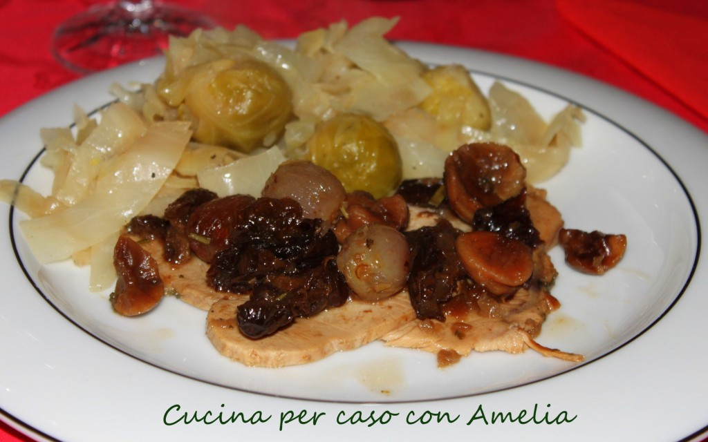 Arrosto alla frutta, ricetta capodanno   Cucina per caso con Amelia
