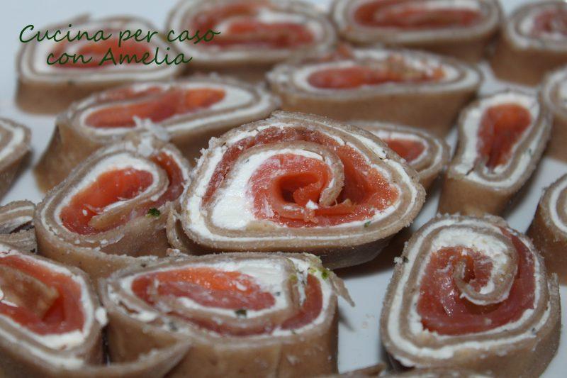 Antipasto al salmone, ricetta finger food