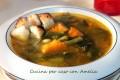 Minestrone di verdura saporito, ricetta