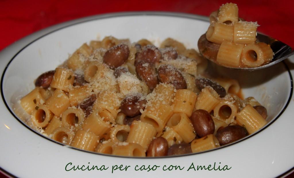 Preferenza e fagioli, ricetta light | Cucina per caso con Amelia JW08