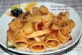 La calamarata, ricetta di mare