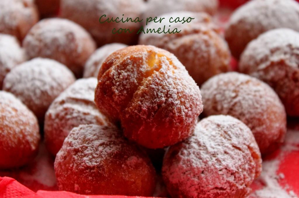 Castagnole, ricetta dolce | Cucina per caso con Amelia