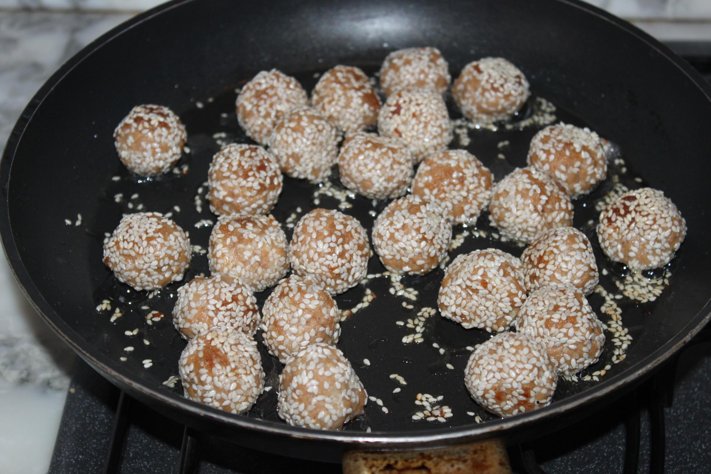 polpette di tonno al sesamo ricetta cucina per caso con amelia