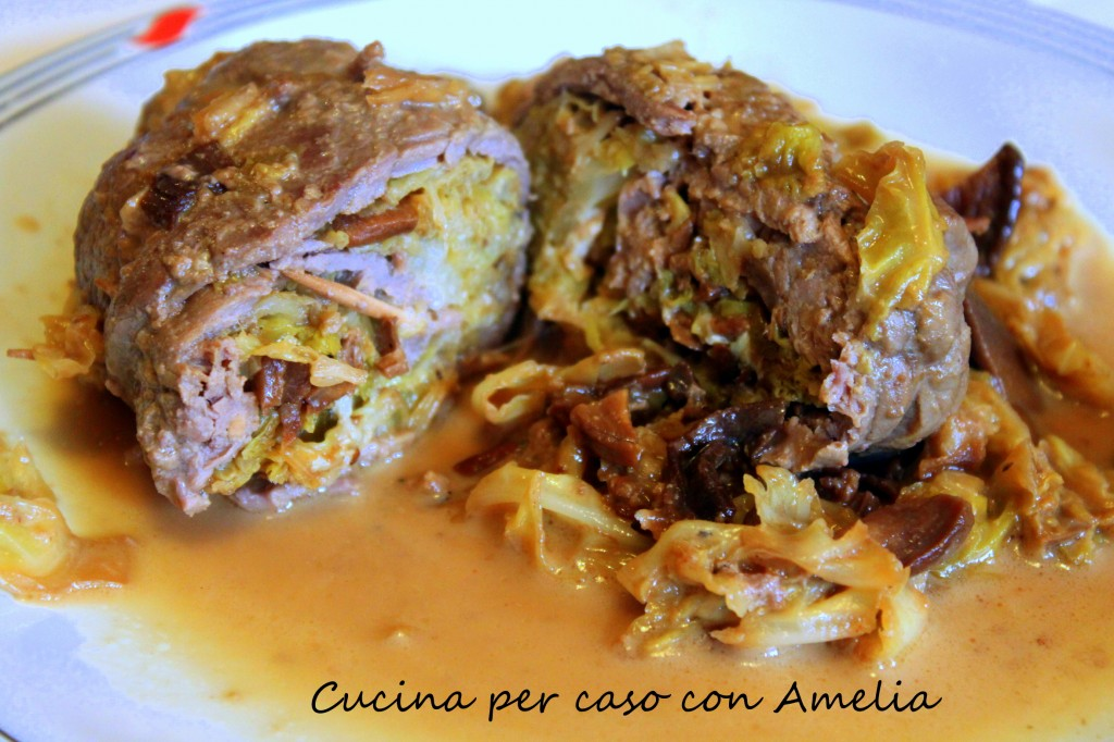 Involtini di carne ripieni ricetta cucina per caso con for Cucina italiana ricette carne