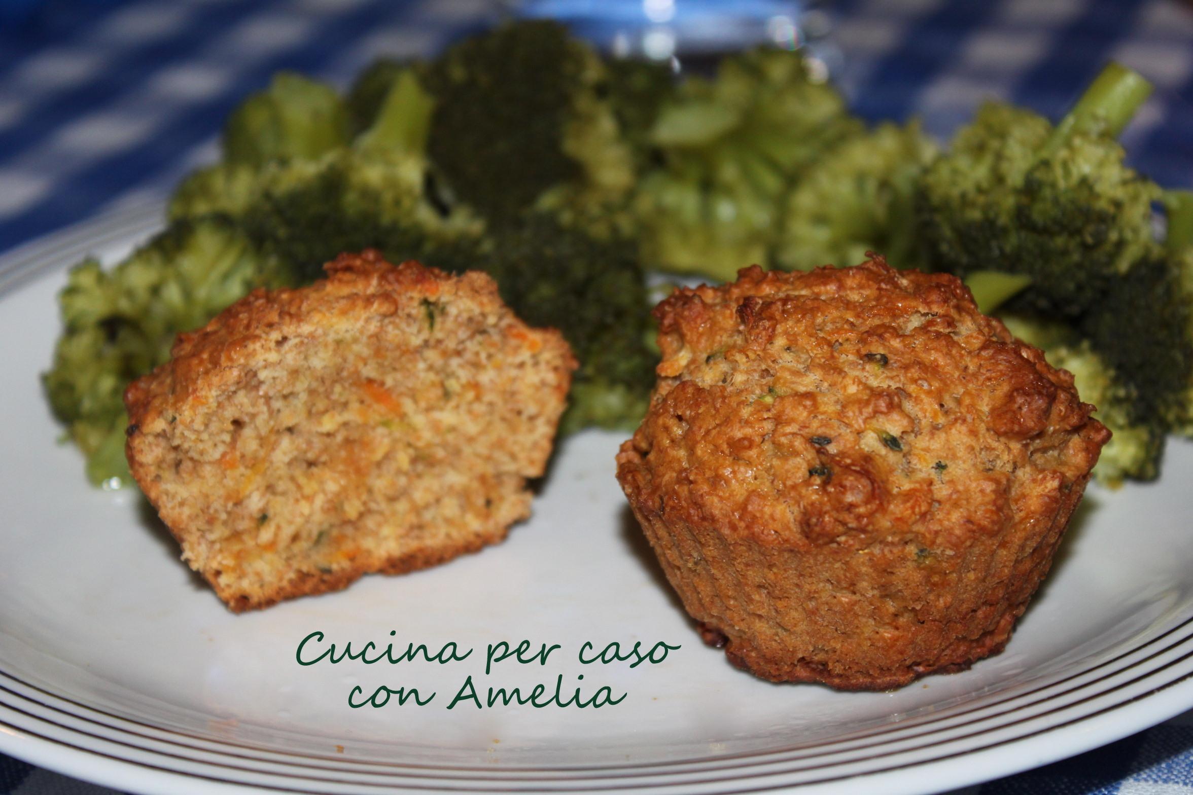 Cupcake salati ricetta vegetariana cucina per caso con amelia - Una vegetariana in cucina ...