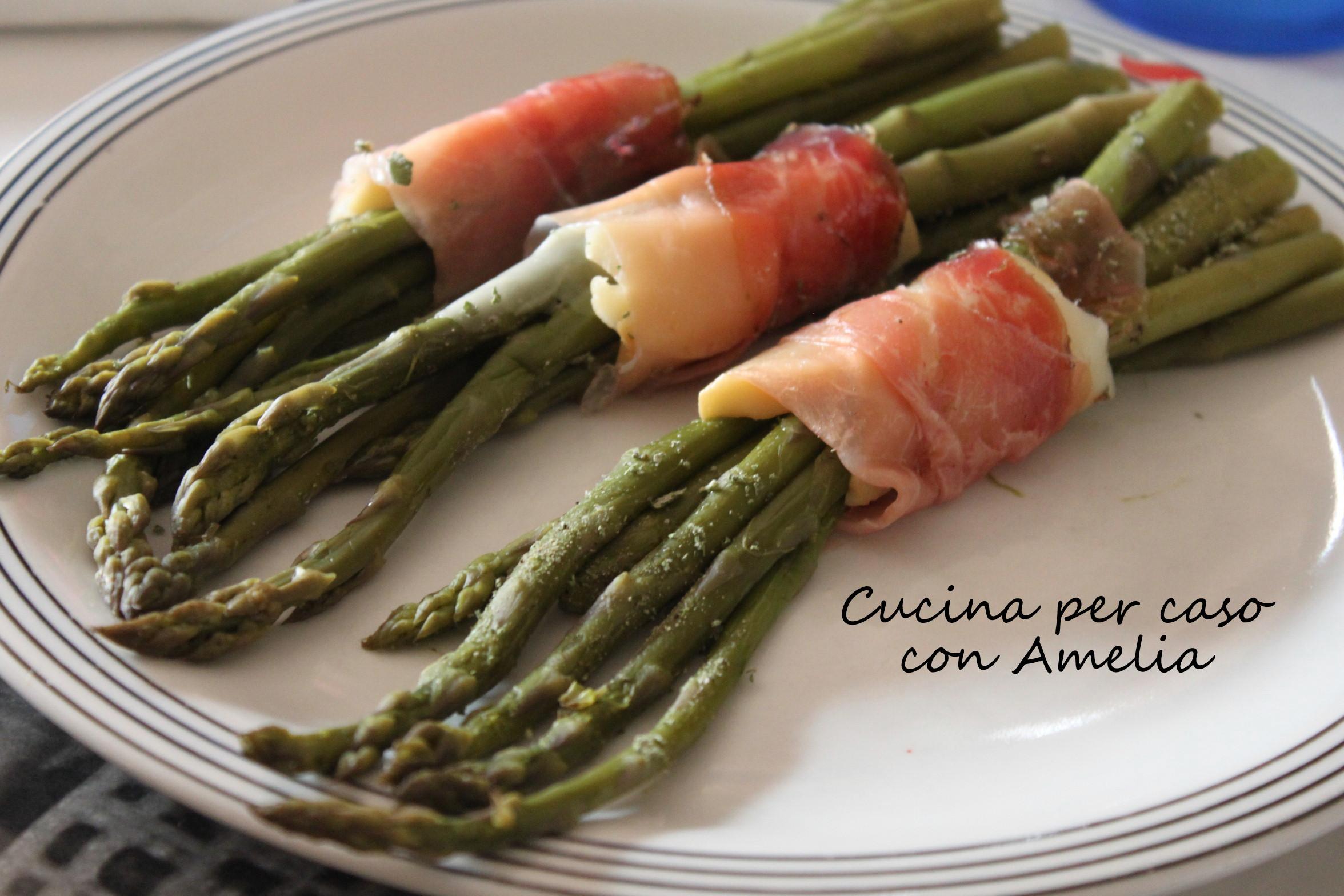 Asparagi con speck e scamorza ricetta cucina per caso for In cucina ricette