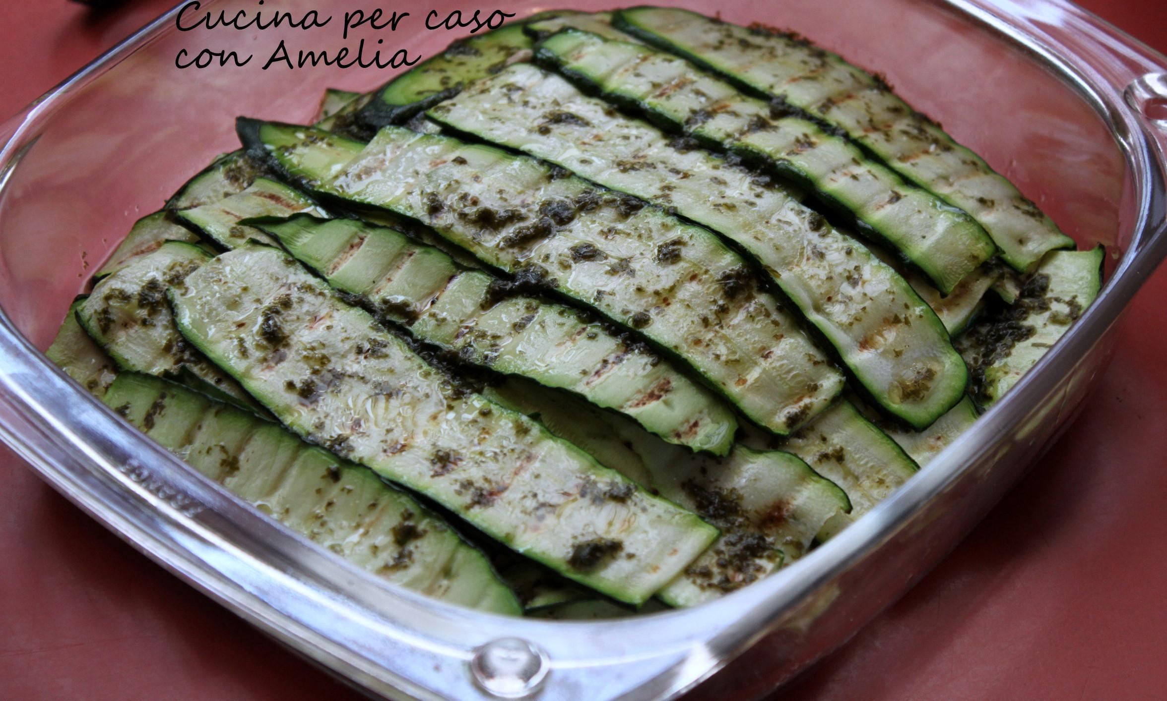 zucchine grigliate ricetta contorno cucina per caso con