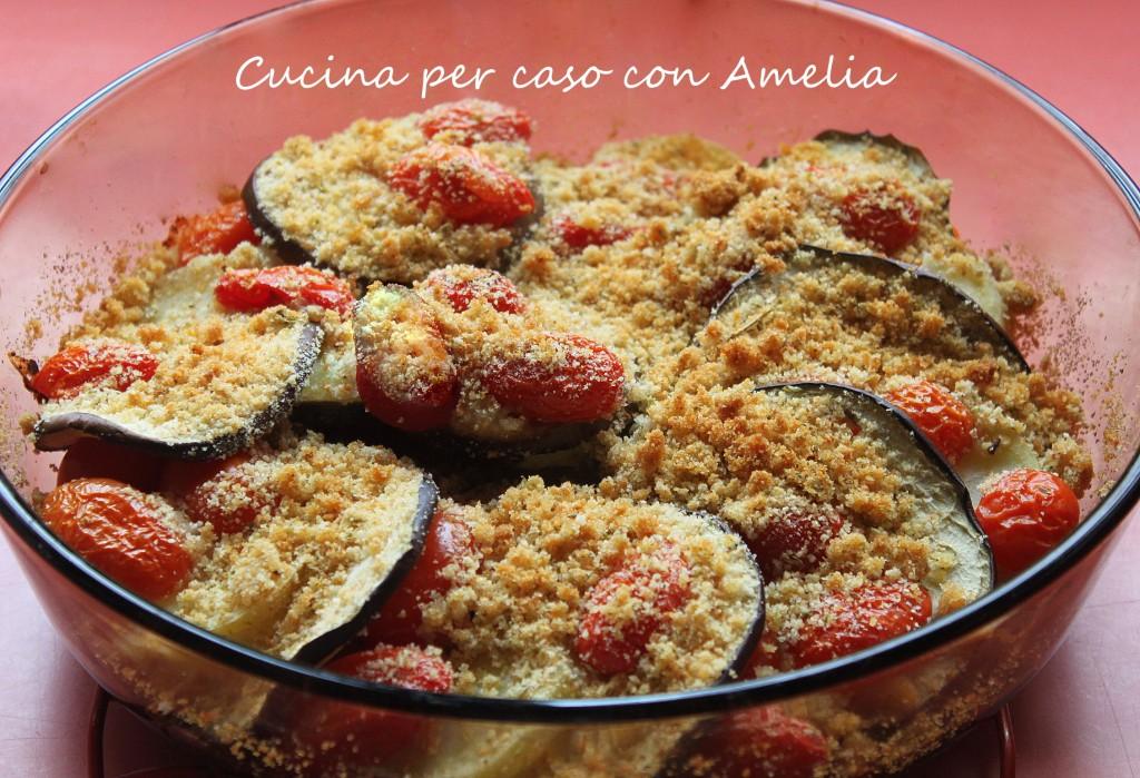 Tortino di melanzane gratinate, ricetta   Cucina per caso con Amelia