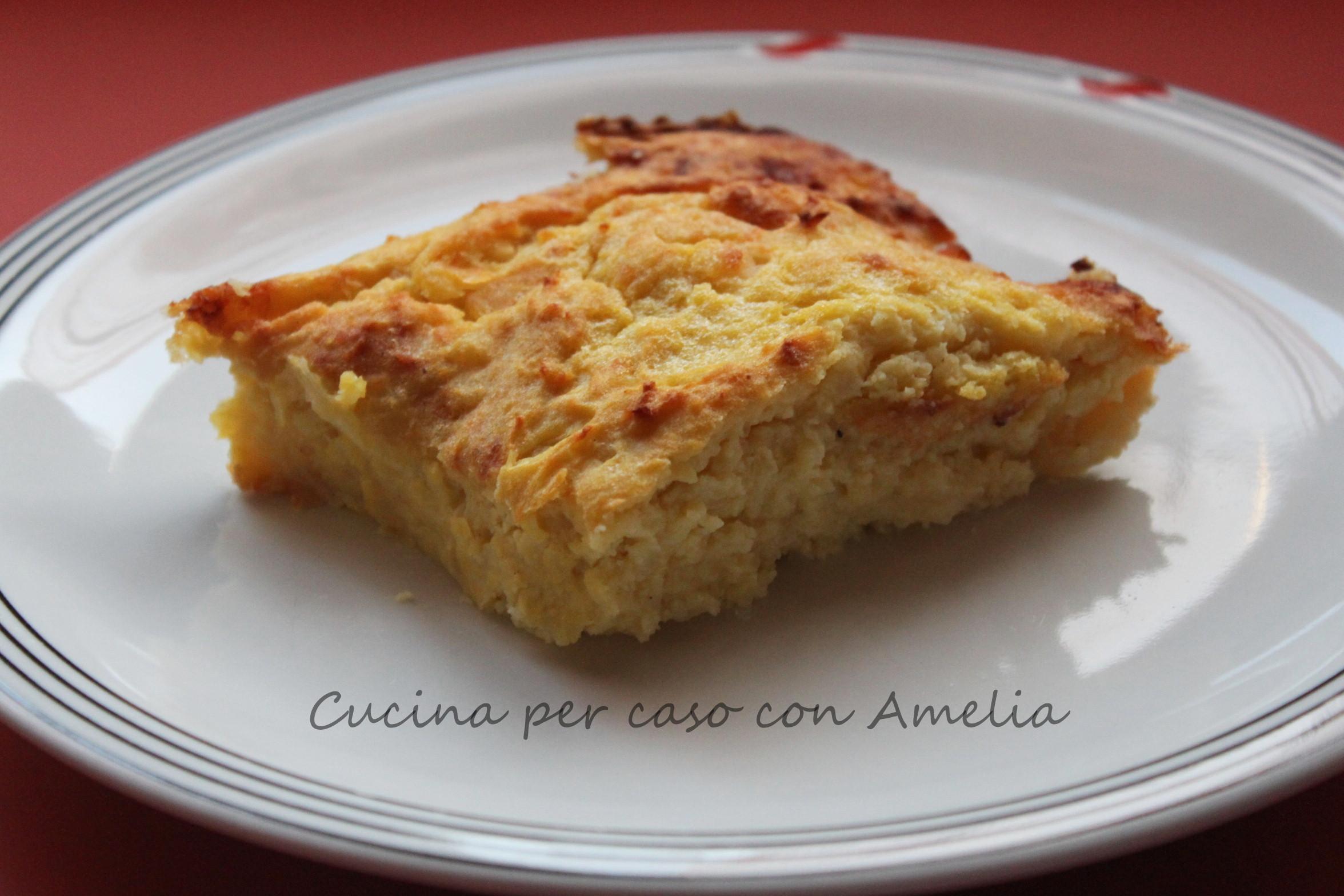 Tortino di patate ricetta vegetariana cucina per caso con amelia - Una vegetariana in cucina ...