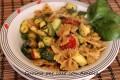Farfalle con zucchine e spezie, ricetta
