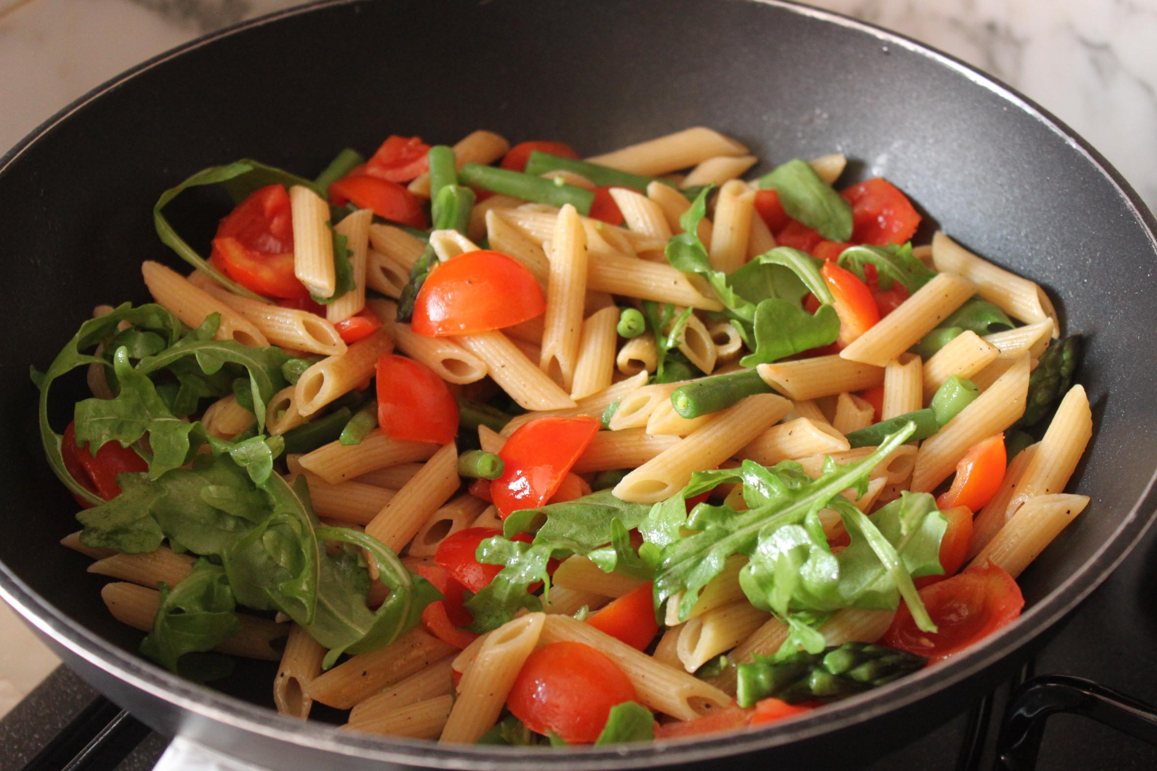 Ricette con pasta e verdure