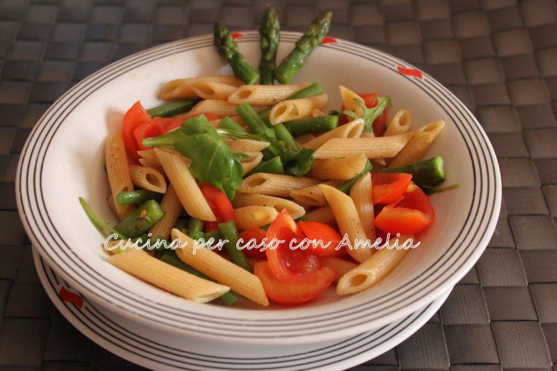 Pasta con verdure anti cellulite, ricetta