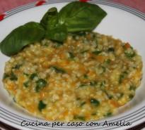 Risotto al basilico, ricetta primo piatto