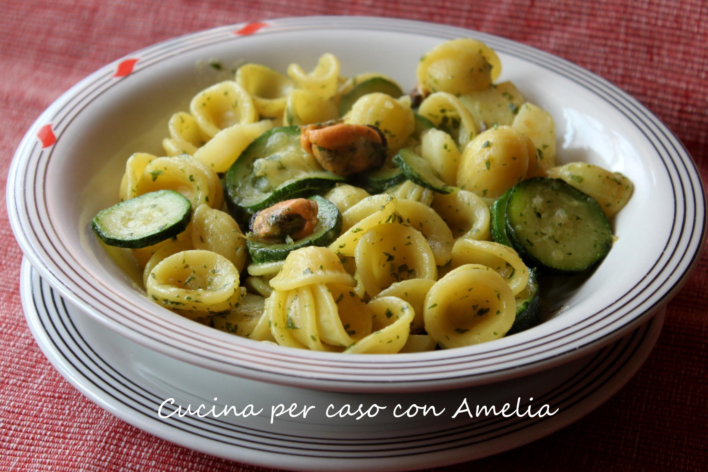 Ricette primi piatti con zucchine e patate