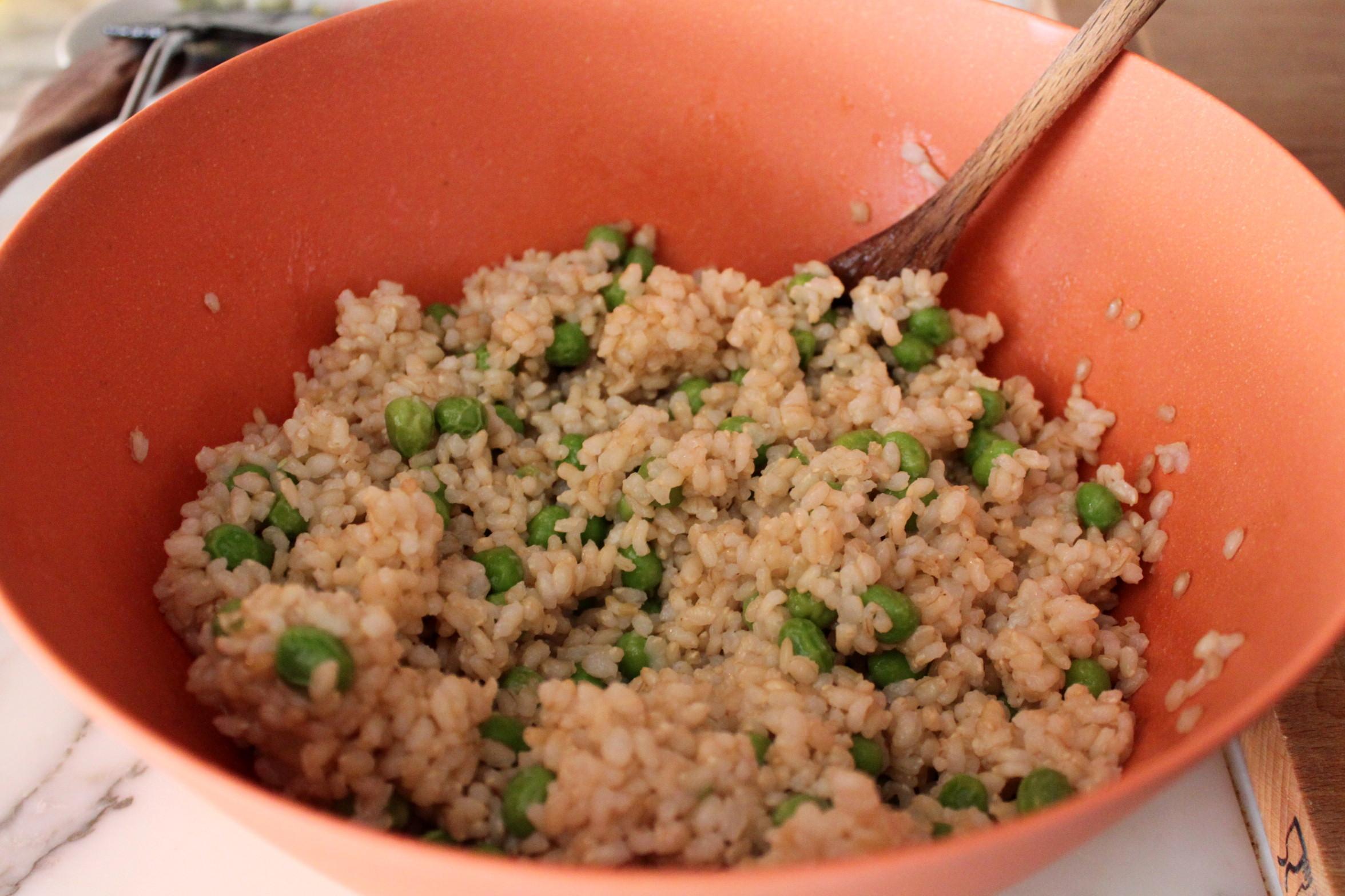 Insalata di riso integrale ricetta cucina per caso con for Cuocere 1 kg di riso