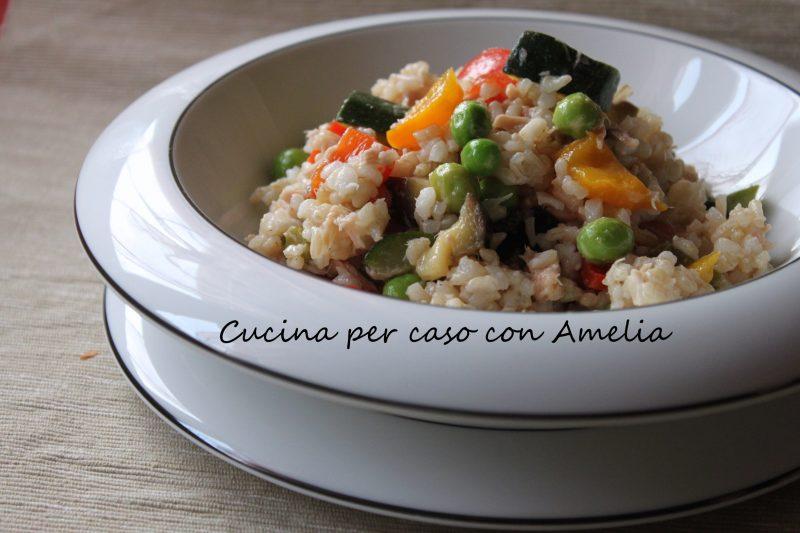 Insalata di riso integrale, ricetta