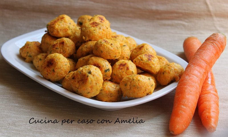 Polpettine di ricotta e carote, ricetta