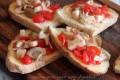 Crostini con melanzane, ricetta