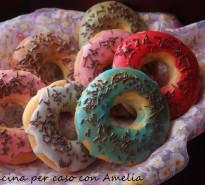 Donuts al forno, ricetta
