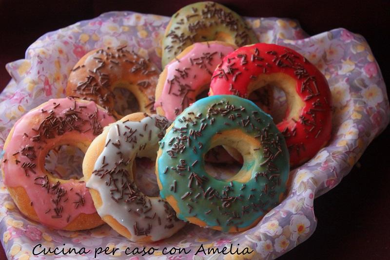 Donuts al forno, ricetta   Cucina per caso con Amelia