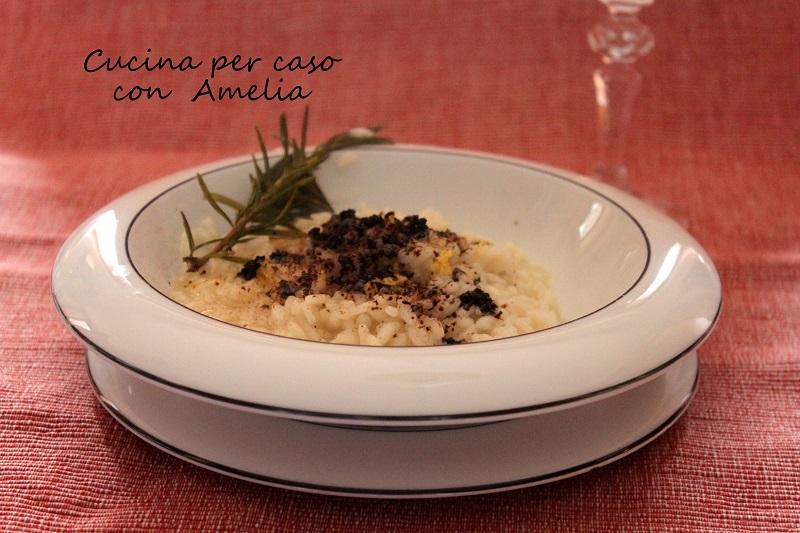 Risotto alla liquirizia, ricetta vegan   Cucina per caso con Amelia