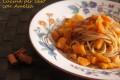 Spaghetti integrali con la zucca, ricetta