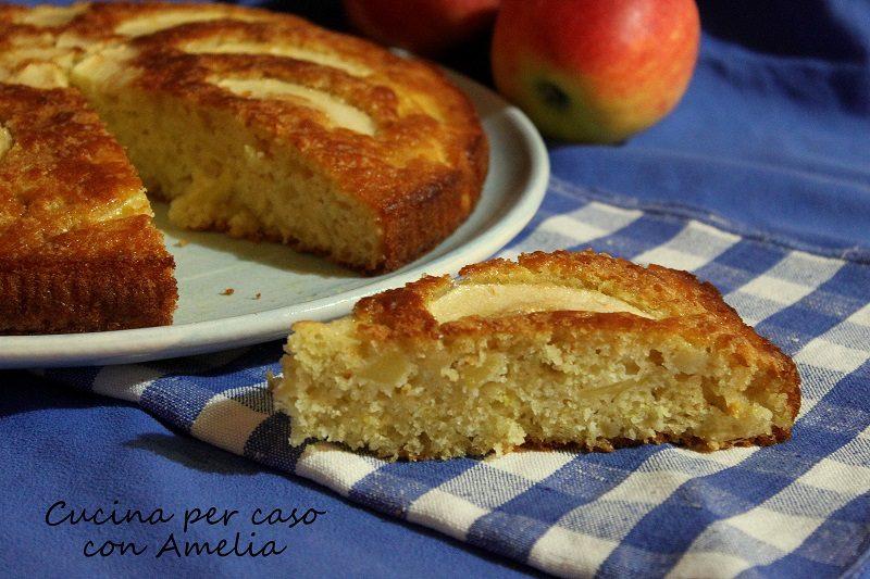 Torta soffice di mele, ricetta dolce