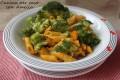 Pasta con zucca e broccoli, ricetta light