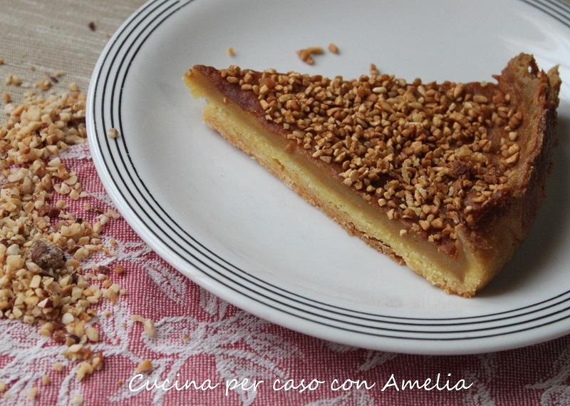 Crostata Con Crema Al Caffe E Nocciole Cucina Per Caso Con Amelia