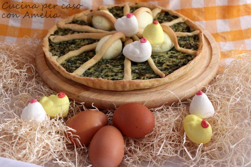 Torta Pasqualina, ricetta salata