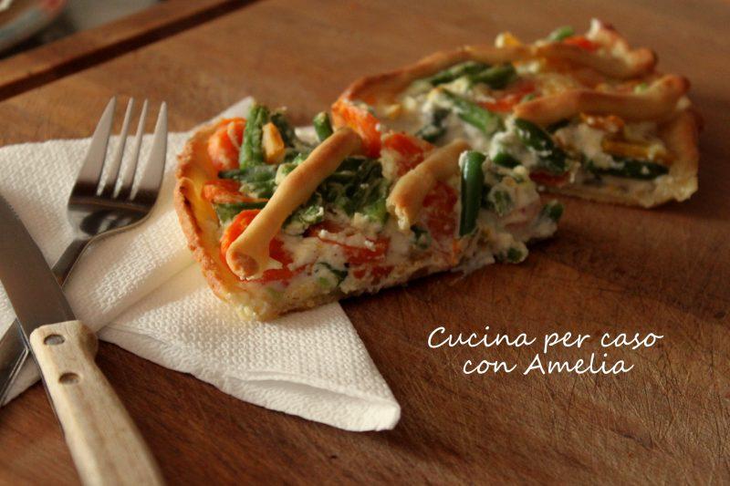 Torta salata con verdure, ricetta
