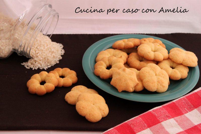 Biscotti con farina di riso, ricetta