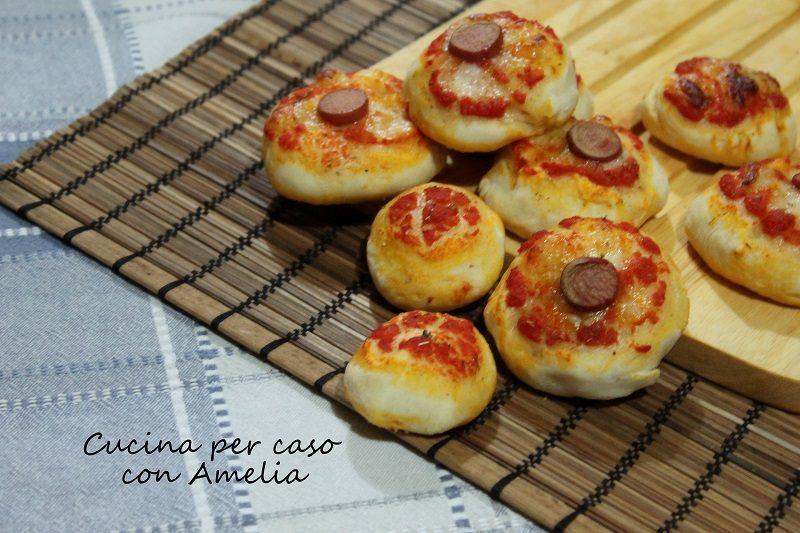 Pizzette o focaccine mignon, ricetta