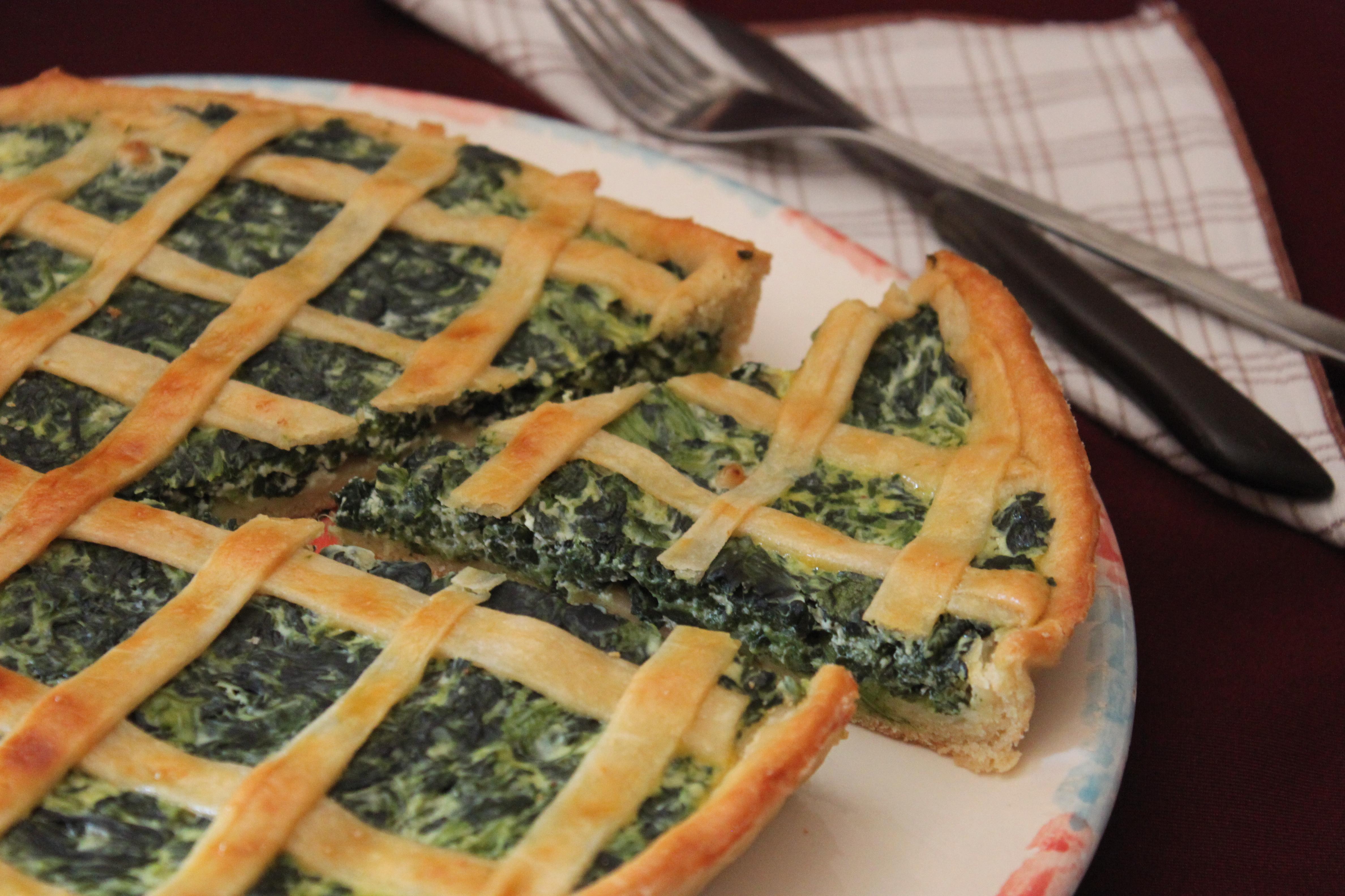 Torta ricotta e spinaci, ricetta   Cucina per caso con Amelia