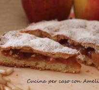 Torta strudel di mele, ricetta