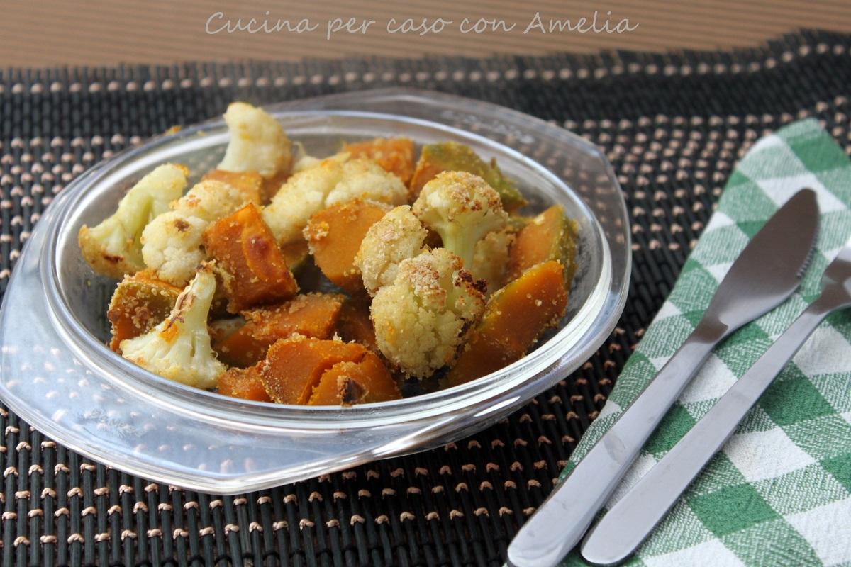 Cavolfiore e zucca, ricetta | Cucina per caso con Amelia