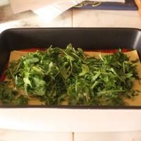 Lasagne con rucola e crescenza | Cucina per caso con Amelia