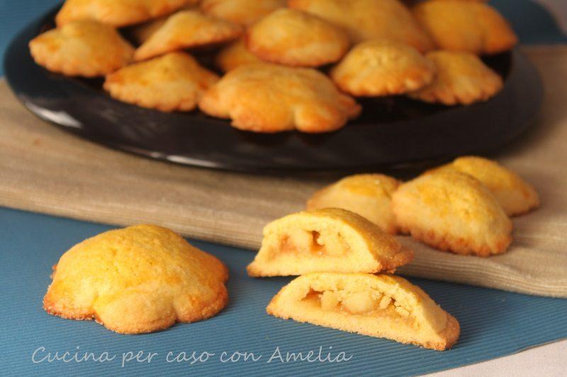 Biscotti cuor di mela, ricetta