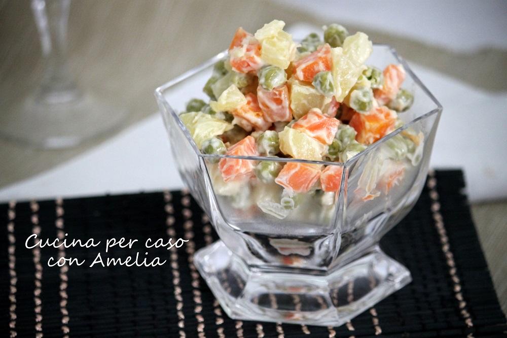 Insalata russa, ricetta bimby  Cucina per caso con Amelia