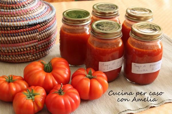 Sugo di pomodoro ricetta bimby | Cucina per caso con Amelia