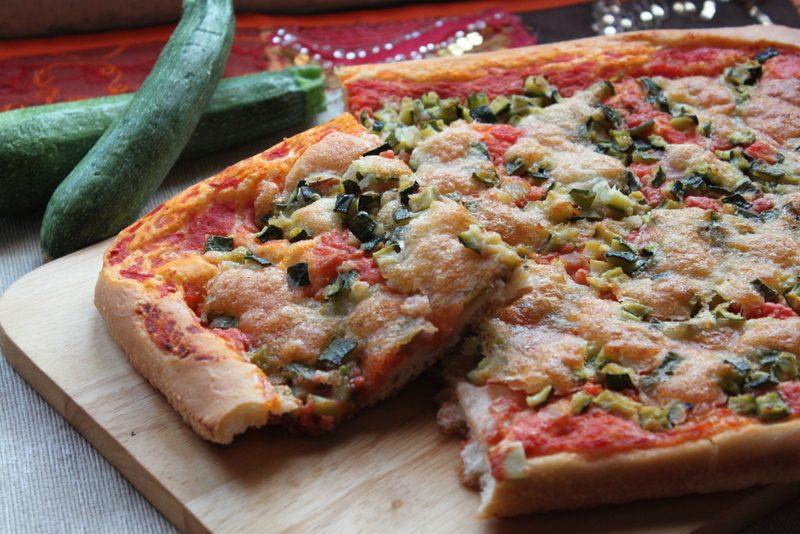 Pizza alle zucchine, ricetta bimby