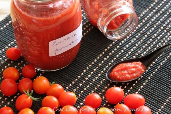 Conserva di pomodorini bimby | Cucina per caso con Amelia
