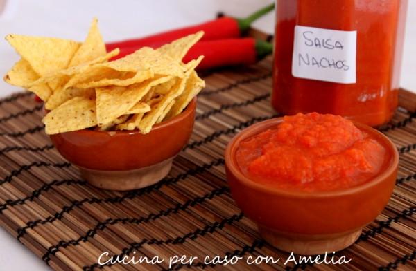 Salsa per nachos bimby | Cucina per caso con Amelia