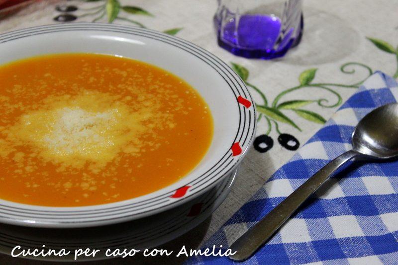 Crema zucca carote bimby
