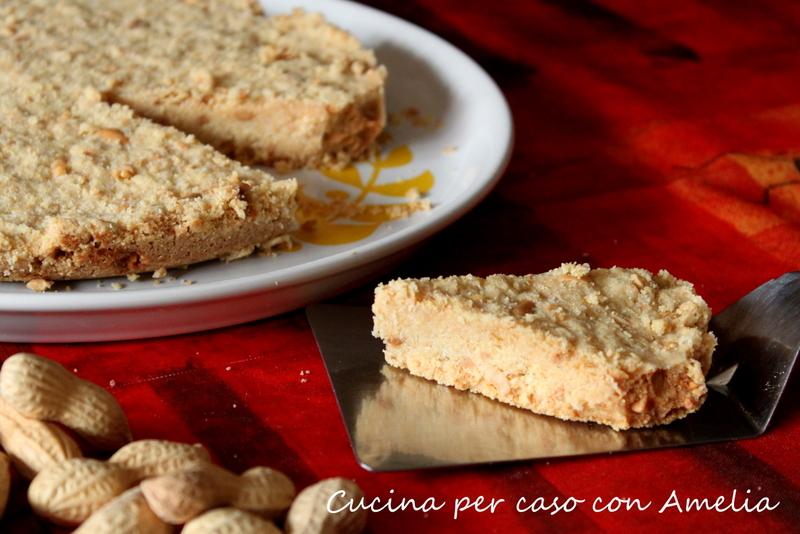 Torta alle arachidi bimby