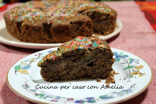 Torta al cioccolato e kiwi bimby | Cucina per caso con Amelia