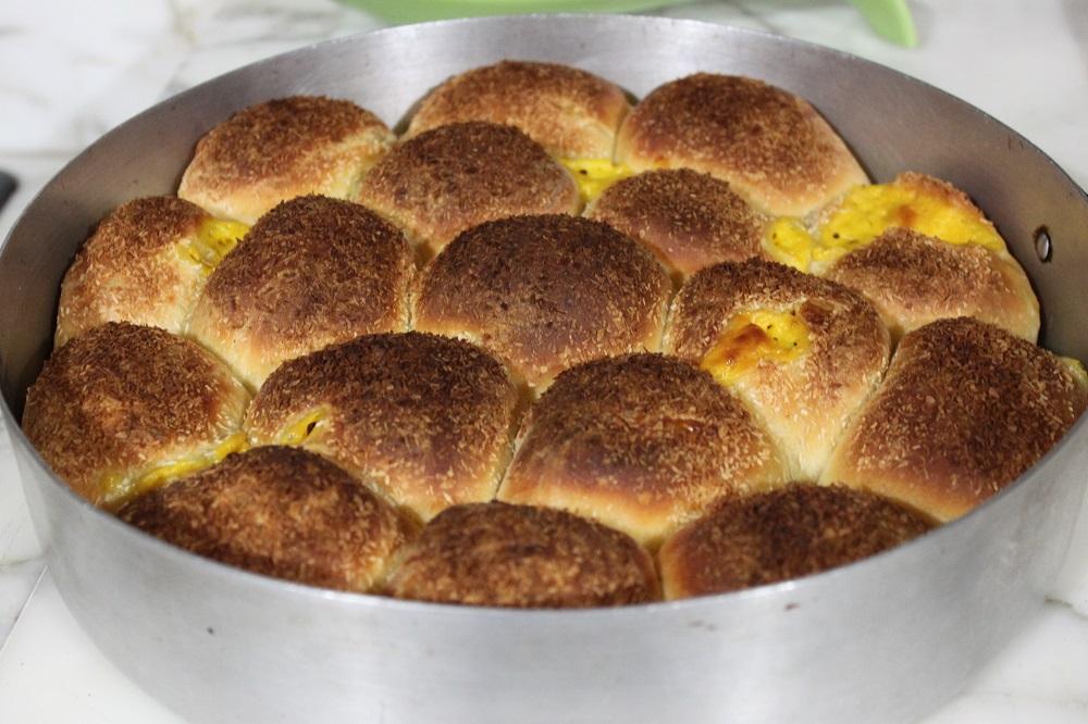 Danubio dolce con crema cucina per caso con amelia for Cucina dolce