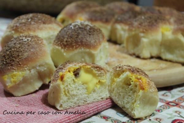 Danubio dolce con crema e uvetta | Cucina per caso con Amelia